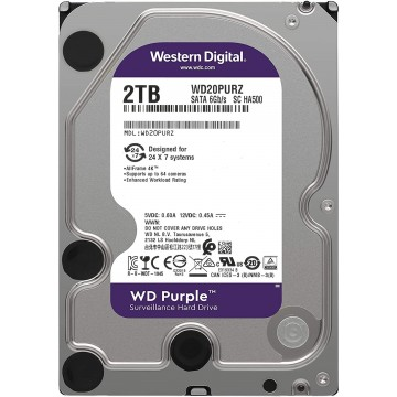Disco Wd Purple 2Tb 3,5'...