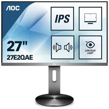 AOC 27E2QAE Monitor LED 27' Full HD - HDMI, VGA, DPort - multimediale