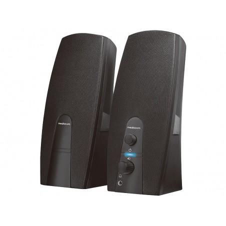 MEDIACOM MediaSound 2.0 A20 - Altoparlanti per PC - 6 Watt (Totale)