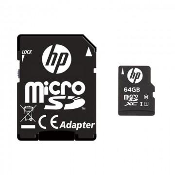 Hp Micro Sd 64Gb + Adapter