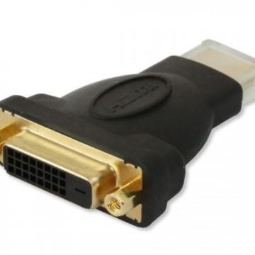 ADATTATORE HDMI(M) A DVI(F)